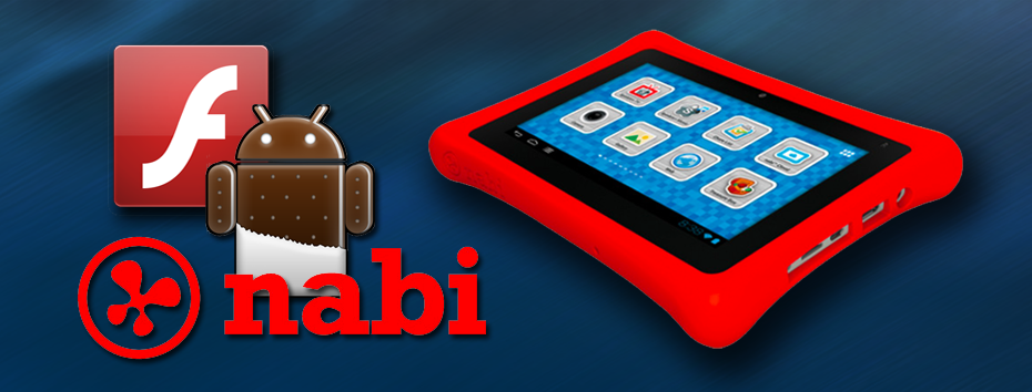 How to Manually Install Adobe Flash on a nabi Tabet (Android 4 0 4